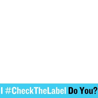 #CheckTheLabel