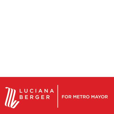 Luciana For Metro Mayor