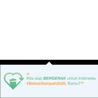 Indonesia #BebasSampah2020