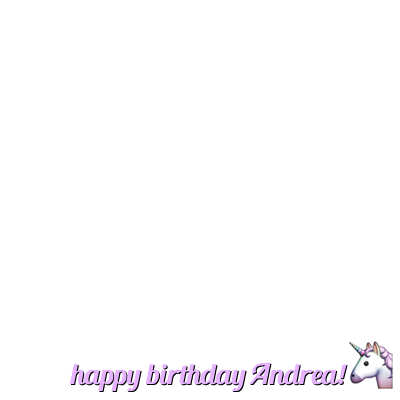 #HappyBirthdayAndrea