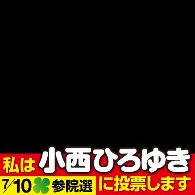 千葉選挙区 小西ひろゆき応援リボン