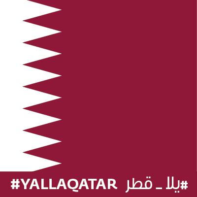 #YallaQatar!