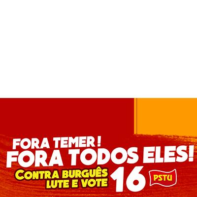 Contra burguês lute, vote 16