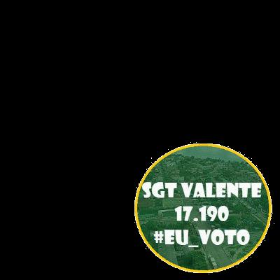 Eu Voto SGT. VALENTE 17190