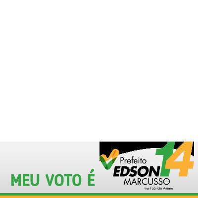 EU VOTO EDSON 14!