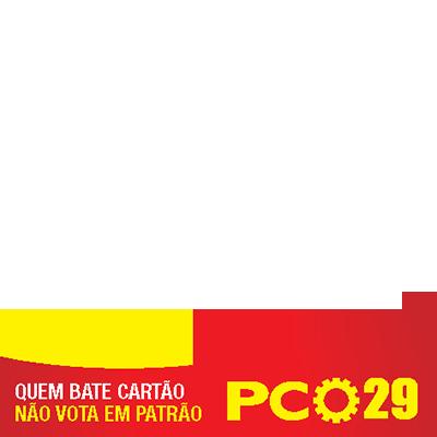 Contra o golpe é PCO - 29