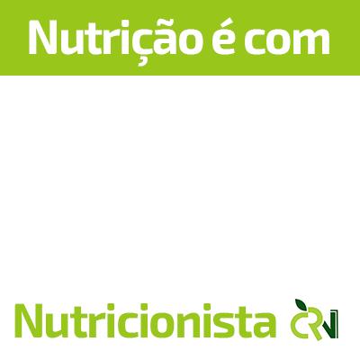 Nutrição é com Nutricionista