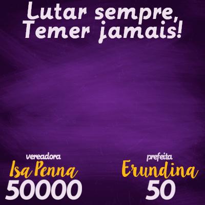 Isa Penna 50000 #SPPrasMinas