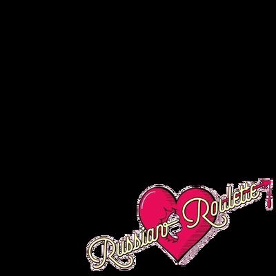 Red velvet russian roulette heart meuble tv sur roulettes pas cher