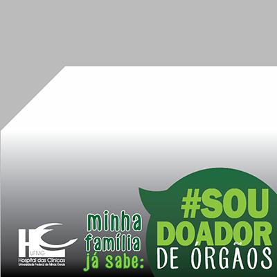 #SOU DOADOR DE ORGÃOS