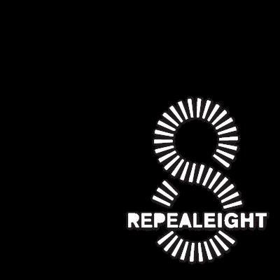 #repealthe8th White Twibbon
