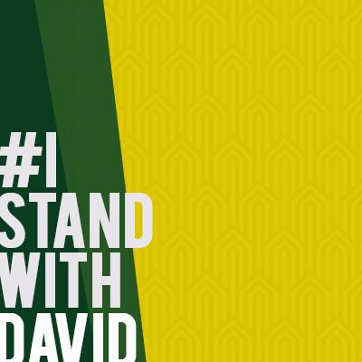 #istandwithDavid