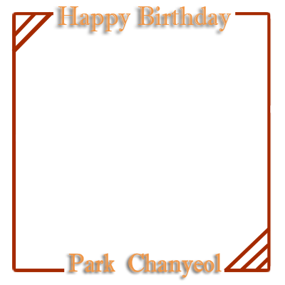 EXO Chanyeol's Birthday