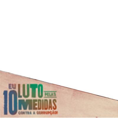 #LutePelas10Medidas