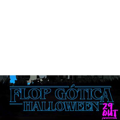 Flop Gótica de  Halloween