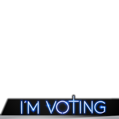 """I'm Voting"" Profile Pic"