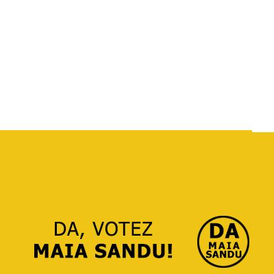 Eu votez Maia Sandu