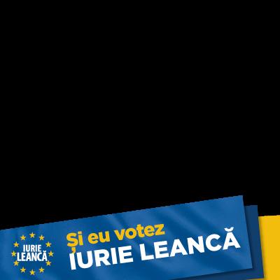 Și eu Votez Iurie Leancă!