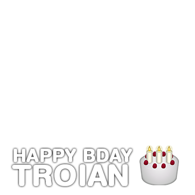Happy Birthday Troian