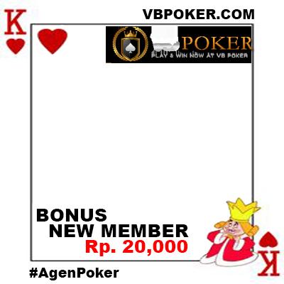 Agen Poker Vbpoker - Support Campaign | Twibbon