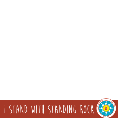 I Stand With Standing Rock Support Campaign Twibbon