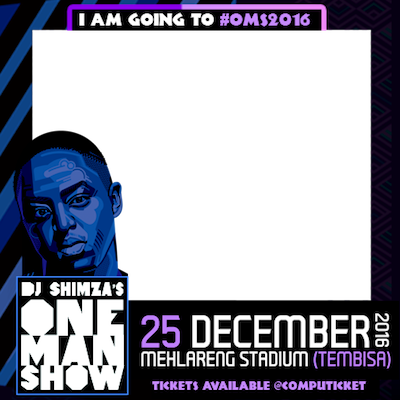 DJ Shimza's One Man Show