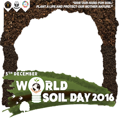 World soil day 2016 hmit support campaign twibbon for Soil support