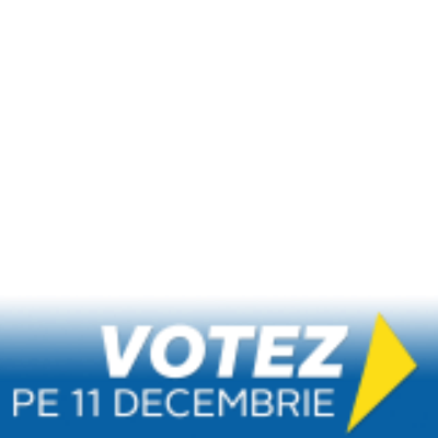 Votez pe 11 Decembrie.