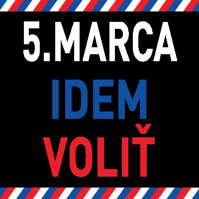 5.marca idem voliť