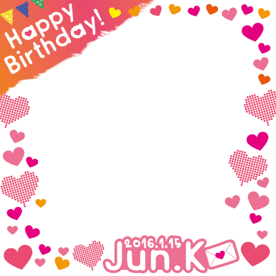 JUN.K ( 2PM ) 29th Birthday