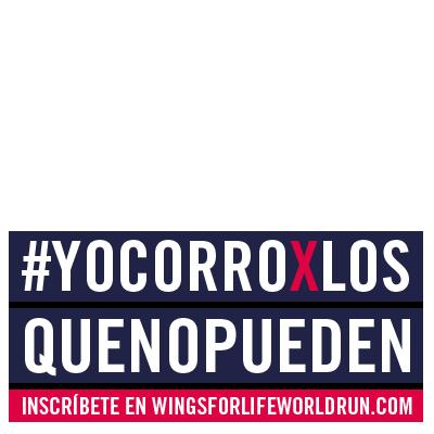 #YOCORROXLOSQUENOPUEDEN