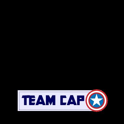 I'm TEAM CAP *NEW VERSION*