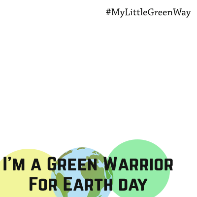 Green Warrior for Earth Day