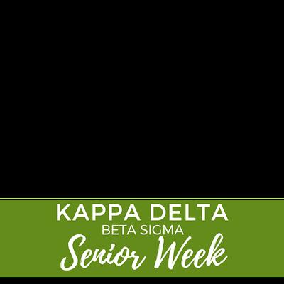 KD Beta Sigma Senior Week