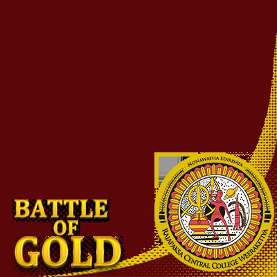 BATTLE OF GOLD