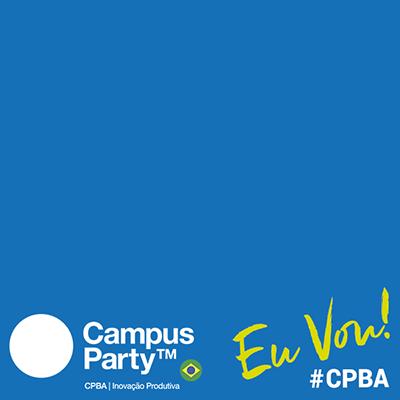 Eu vou pra #CPBA!