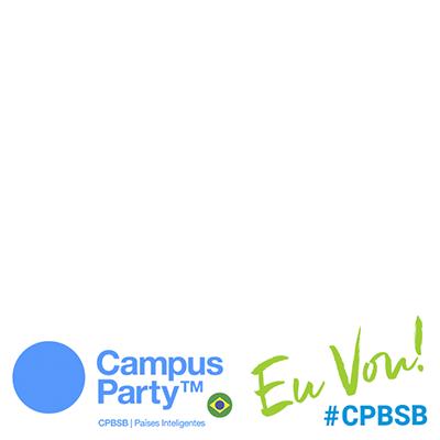 Eu vou pra #CPBSB!
