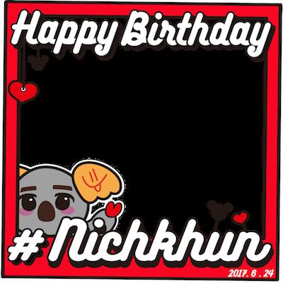 Happy Birthday Nichkhun