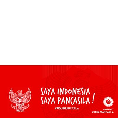 saya indonesia support campaign twibbon rh twibbon com