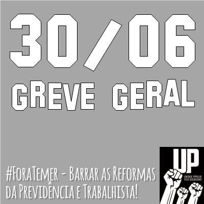 30 / 06 - Greve Geral
