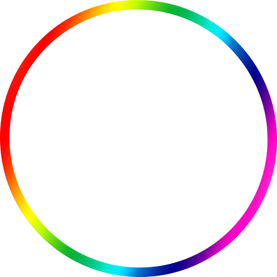 LGBT flag border 