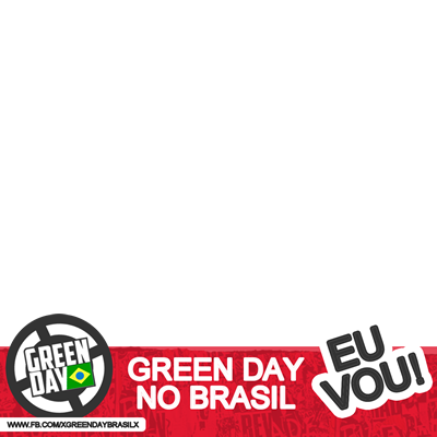 Green Day no Brasil, eu vou!