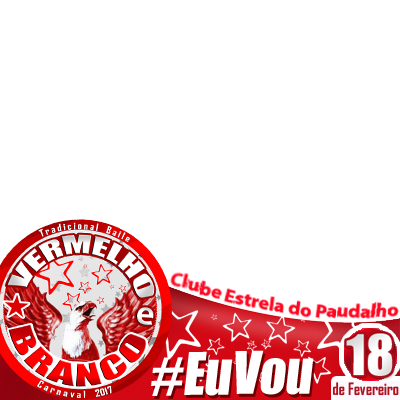 BAILE VERMELHO E BRANCO 2017