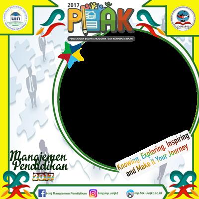 twibbon PBAK Jurusan MP 2017