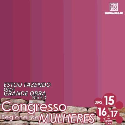 CONGRESSO DE MULHERES 2017