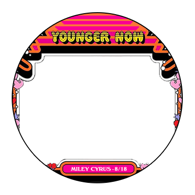 Younger Now (Circle) - Support Campaign | Twibbon