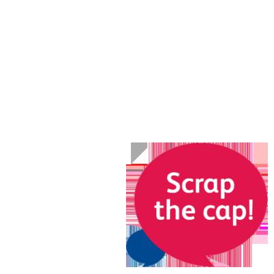 Scrap the cap!