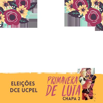 PRIMAVERA DE LUTA - CHAPA 2