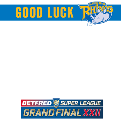 Good Luck Leeds Rhinos
