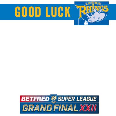 Good Luck Leeds Rhinos